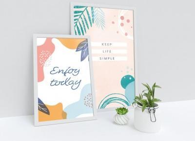 Motywujące plakaty do pobrania za darmo | pani designer