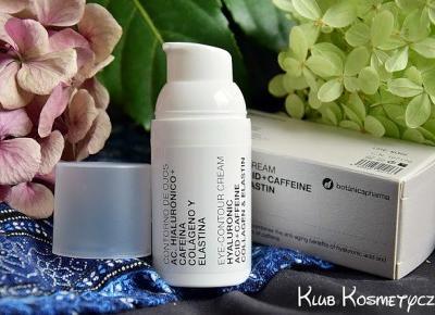 BotanicaPharma, krem pod oczy z kwasem hialuronowym i kolagenem - Strona kobiet z pasją