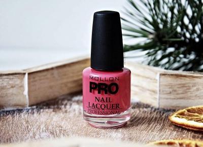 MOLLON PRO, LAKIER DO PAZNOKCI NR 130 - Klub Kosmetyczny: Beauty Blog