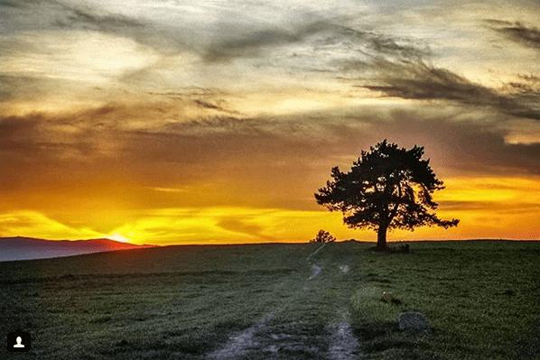 Zachód Słońca w Chabówce (Tatry)