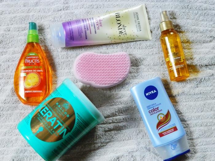 Bakusiowe Bzdetki: Jak uratować włosy po rozjaśnianiu?