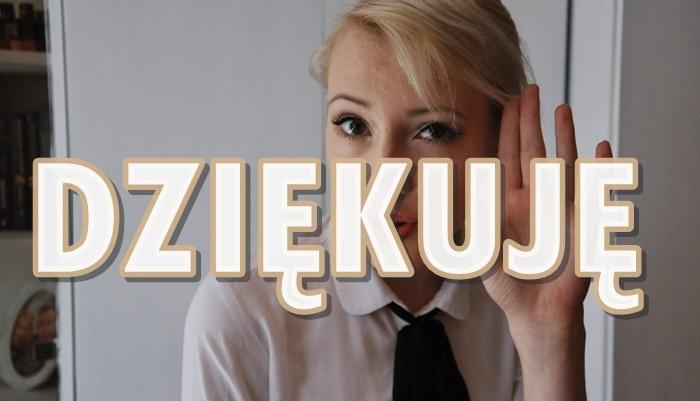 Paulina Bagińska: Dziękuję