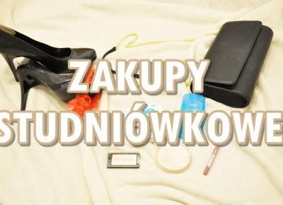 Paulina Bagińska: Zakupy studniówkowe
