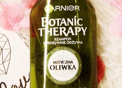 Szampon 'Mityczna Oliwka' z serii Botanic Therapy marki Garnier