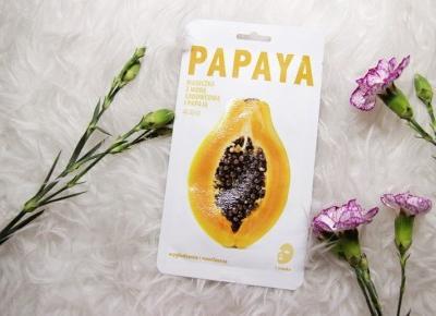 Wygładzająca maseczka 'Woda lodowcowa z papają' marki Mishe