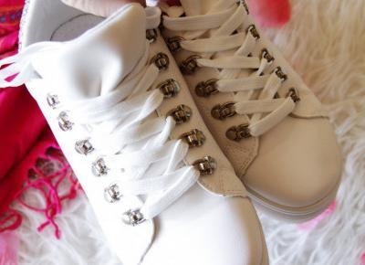 Białe adidasy ze strony RoyalFashion