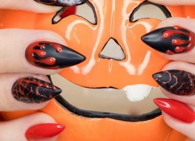 10 pomysłów na Halloweenowe paznokcie