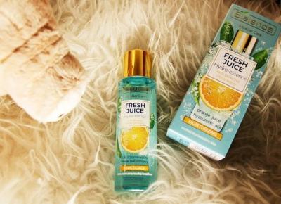 Nawilżająca hydro-esencja z bioaktywną wodą cytrusową - sok z pomarańczy + kwas hialuronowy z serii 'Fresh Juice' marki Bielenda