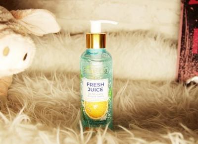 Nawilżający micelarny żel do mycia twarzy z bioaktywną wodą cytrusową - sok z pomarańczy, kwas hialuronowy i micele z serii 'Fresh Juice' marki Bielenda