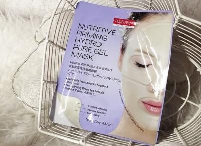 Odżywczo-ujędrniająca hydrożelowa maska do twarzy marki Purederm