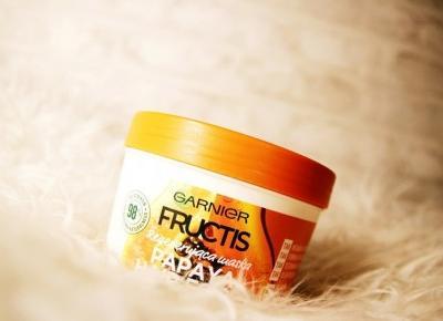 Regenerująca maska do włosów zniszczonych 'Hair Food' z papają marki Garnier