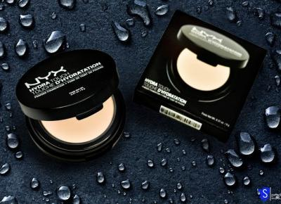 [RECENZJA] NYX HYDRA TOUCH POWDER FOUNDATION NR 01 PORCELAIN