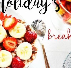 Widziane przez okulary: Holiday's breakfast