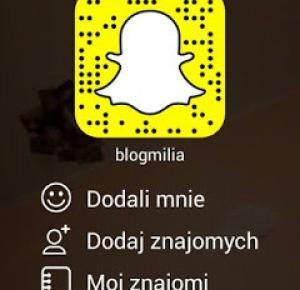 Patrycja Blog: Blogmilia-snapchat grupowy