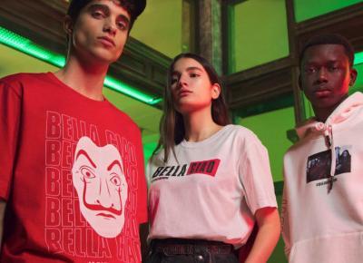 Pull&Bear łączy siły z Netflix i wprowadza kolekcję La Casa de Papel!!!