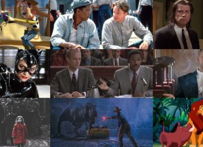 12 najbardziej ikonicznych filmó lat 90. Dlaczego polecamy?