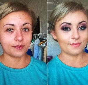 paula-visage: Makijaż podkreślający brązowe oczy