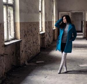 paula-visage: Szlafrokowy płaszcz - moja stylizacja
