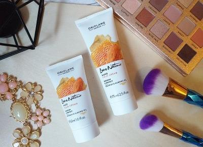 Testowanie z pa2ul: Nowości od Oriflame | Love Nature Hand Cold Cream & Face Cold Cream