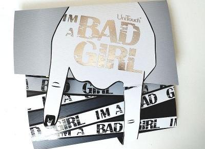 Testowanie z pa2ul: Maski w płachcie z serii Bad Girl   UniTouch