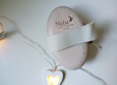 Testowanie z pa2ul: Szczotka do masażu ciała | Natu handmade