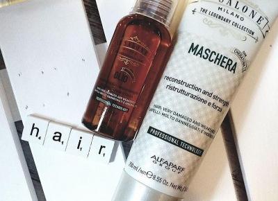 Testowanie z pa2ul: Maska do włosów suchych i zniszczonych oraz olejek keratynowy | Il Salone Milano