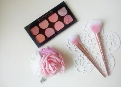 Makeup Revolution. Ultra Blush and Contour Palette, recenzja. - Testowanie z pa2ul