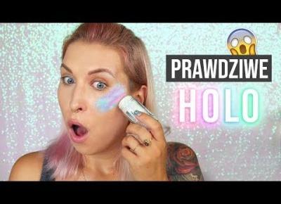 ♦ WTF?! Prawdziwy rozświetlacz HOLO?! 😱 ♦ Agnieszka Grzelak Beauty
