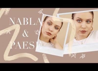 NOWE CIENIE NABLA & PAESE | makijaż jesienny w zieleniach
