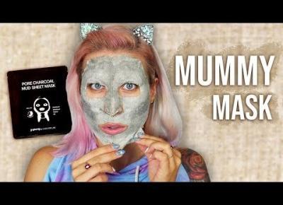 ♦ WTF?! Dziwna maska MUMIA 😱 Najgłupszy test na YT ♦ Agnieszka Grzelak Beauty