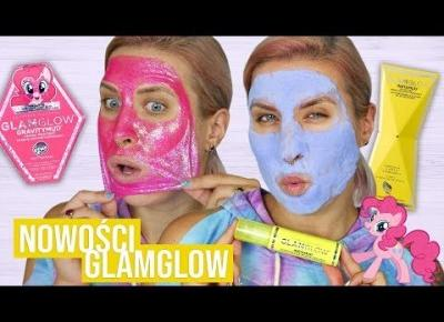 ♦ Brokatowa i piankowa maska? 🙉 Pierwsze wrażenie nowości GlamGlow ♦ Agnieszka Grzelak Beauty