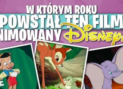 W którym roku powstał ten film animowany Disneya?