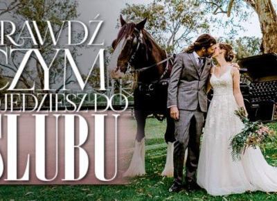 Czym pojedziesz do ślubu?