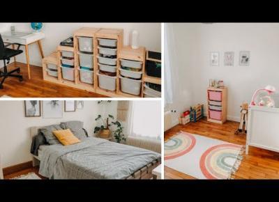 CLEAN WITH ME - *sypialnia, pokoje dzieci & łazienka*