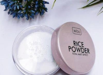 Puder ryżowy | WIBO | PAULINOOWO
