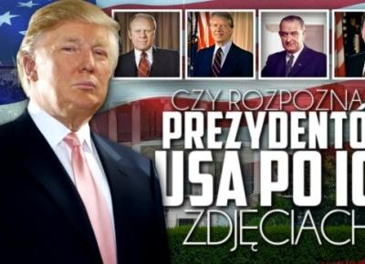 Czy rozpoznasz tych prezydentów USA po ich zdjęciach?