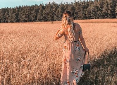 MAXI DRESS FLORAL | paulyenn style