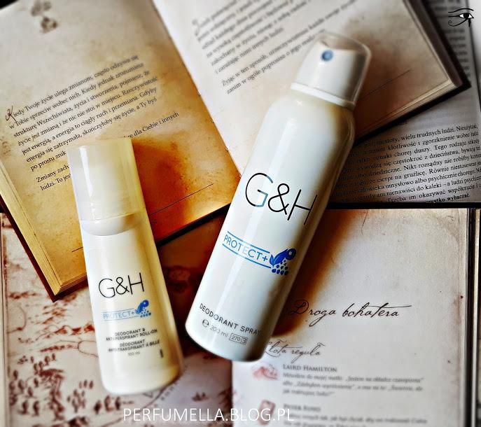 Kulka czy spray? Który dezodorant AMWAY G&H PROTECT+ jest lepszy? | Perfumella Blog
