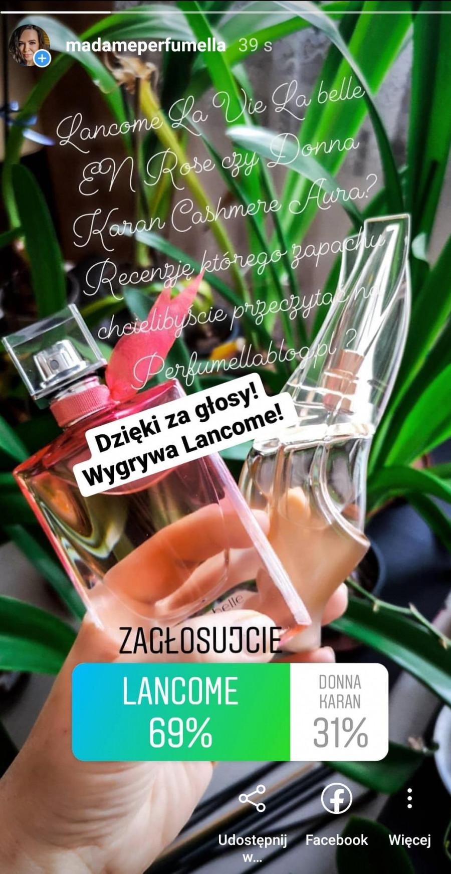 Lancome En Rose La Vie Est Belle Recenzja Damskich Perfum