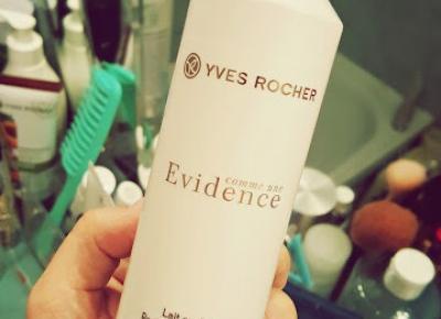 Nie spełniło działania, ale przynajmniej..... Mleczko perfumowane Yves Rocher Comme Une Evidence (recenzja)