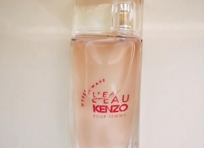 Nowe damskie perfumy L`eau Kenzo Hyper Wave Recenzja