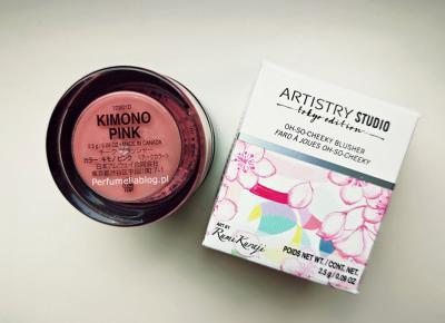 Róż do policzków Artistry Studio Tokyo Edition Kimono Pink