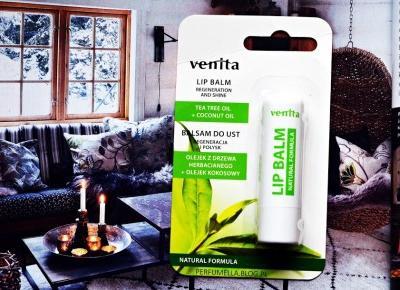 VENITA balsam do ust drzewo herbaciane i olejek kokosowy (recenzja) | Perfumella Blog