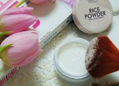 Wibo, Rice Powder - Matująco-utrwalający puder ryżowy | Pirelka blog - Beauty Blog