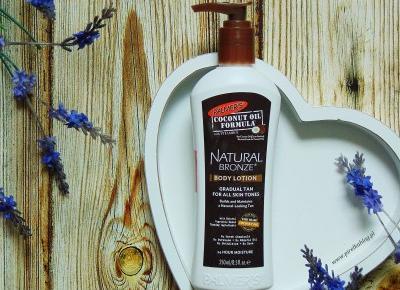 Palmer's, Coconut Oil Formula - Balsam do ciała Natural Bronze | Pirelka blog - Beauty Blog