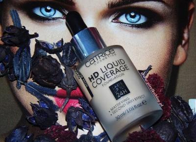 O co tyle hałasu? .. czyli Podkład kryjący Catrice HD Liquid Coverage | Pirelka blog - Beauty Blog