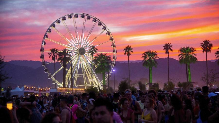 Gwiazdy na festiwalu Coachella!