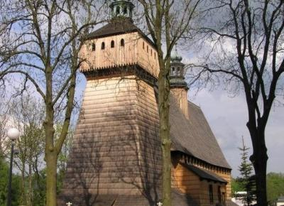 Kościół Wniebowzięcia NMP w Haczowie - Szlaki online