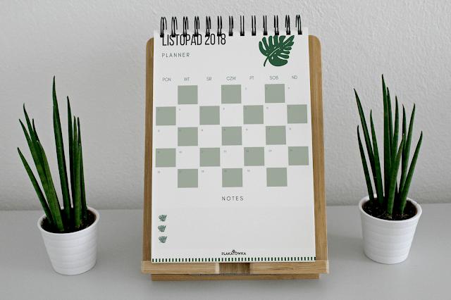 plannery na listopad 2018 do pobrania | plakatówka