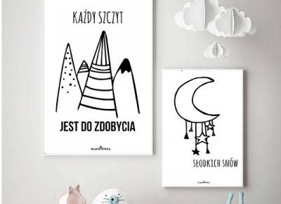 26 autorskich, skandynawskich plakatów do druku